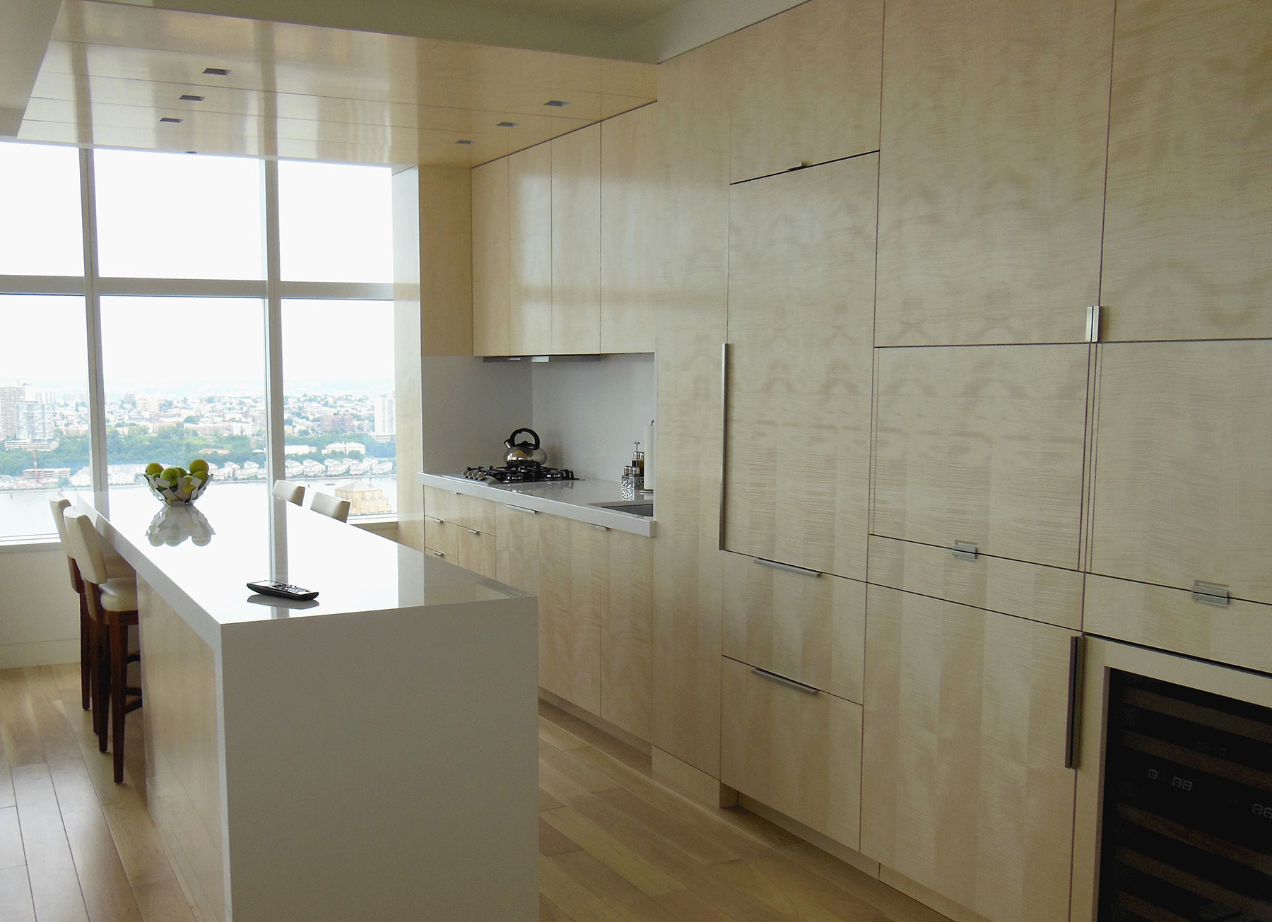 custom millwork and fine finishes